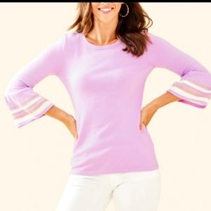 NWT Lilly Pulitzer Callee Sweater Lilac Medium